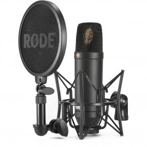 Конденсаторный кардиоидный микрофон RODE NT1 KIT c пауком SMR
