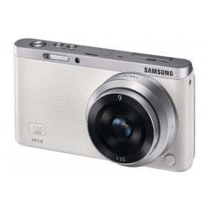 Фотоаппарат Samsung NX Mini Kit 9mm White Wi-Fi