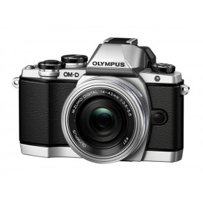 Фотоаппарат Olympus OM-D E-M5 Mark II Pancake Zoom 14-42 Kit Silver/Silver