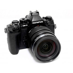 Фотоаппарат Olympus OM-D E-M10 Pancake Zoom 14-42 Kit Black/Black