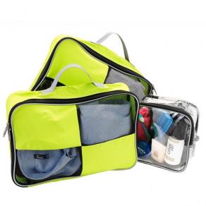 Набор чехлов для упаковки вещей Cabin Max Packing Cub Green