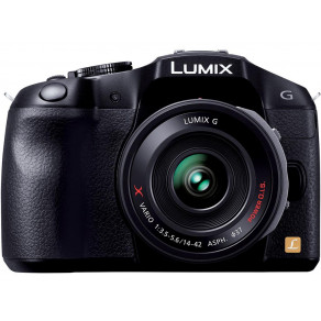 Фотоаппарат Panasonic DMC-G6X Kit 14-42mm Black