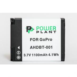 Аккумулятор PowerPlant GoPro AHDBT-001 1100mAh (DV00DV1359)