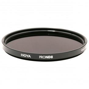Фильтр нейтрально-серый Hoya Pro ND 8 (3 стопа) 49 мм