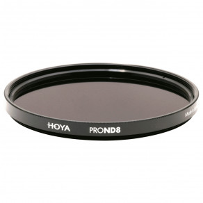 Фильтр нейтрально-серый Hoya Pro ND 8 (3 стопа) 77 мм
