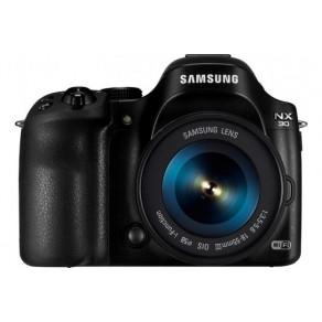 Фотоаппарат Samsung NX30 Kit 18-55 OIS Black Wi-Fi