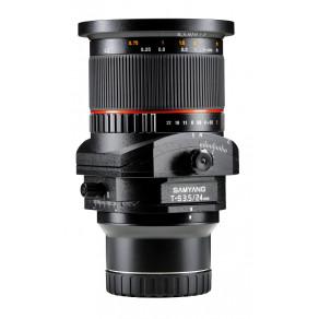 Объектив Samyang Nikon-F T-S 24mm f/3.5 ED AS UMC (Full-Frame)
