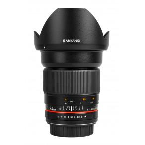 Объектив Samyang Nikon-F 24mm f/1.4 ED AS UMC AE (Full-Frame)