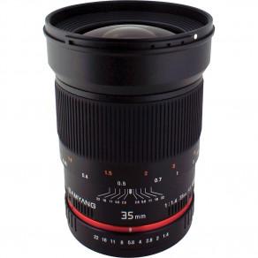 Объектив Samyang Nikon-F 35mm f/1.4 ED AS UMC AE (Full-Frame)