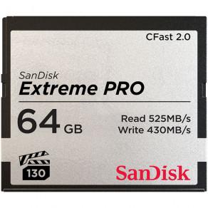 Карта памяти Sandisk CFast 2.0 Extreme Pro 64GB R525/W430 (SDCFSP-064G-G46D)
