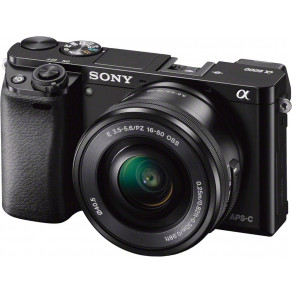 Фотоаппарат Sony Alpha 6000 Double Kit 16-50 + 55-210 Black