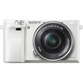 Фотоаппарат Sony Alpha 6000 Kit 16-50 White