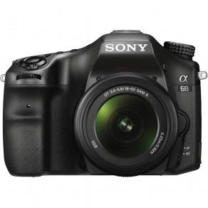 Фотоаппарат Sony Alpha A68 Kit 18-55 Black