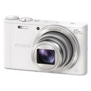 Фотоаппарат Sony Cyber-Shot WX350 White