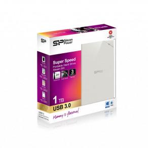 Жесткий диск Silicon Power Stream S03 1TB White (SP010TBPHDS03S3W)