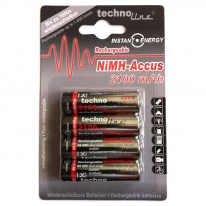 Аккумулятор Technoline AA 2100mAh