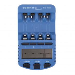 Интеллектуальное зарядное устройство для аккумуляторов AA/AAA Technoline BC-1000 4AA kit