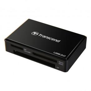 Кардридер универсальный Transcend All-in-1 USB 3.0-microUSB 3.0 Black (TS-RDF8K)