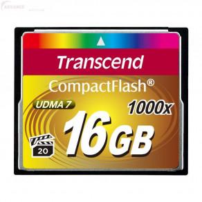 Карта памяти Transcend CF 16GB x1000 (TS16GCF1000)