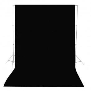 Фон тканевый MyGear черный WOB-2002 - 3x6 м