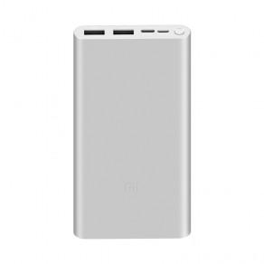 Павербанк Xiaomi Mi3 10000mAh Silver