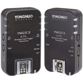 Радиосинхронизатор для накамерных вспышек с TTL Yongnuo YN-622CII Canon