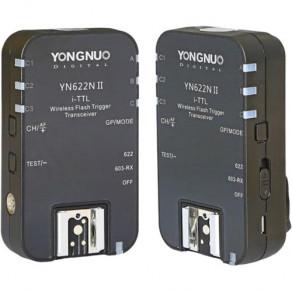 Радиосинхронизатор для накамерных вспышек с TTL Yongnuo YN-622NII Nikon