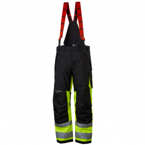Штаны Helly Hansen Alna Winter Pant Class 1 - 71494 (Yellow / Ebony; W36/L32)