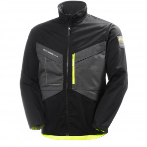 Куртка Helly Hansen Aker Jacket - 77200 (Black/Dark Grey)