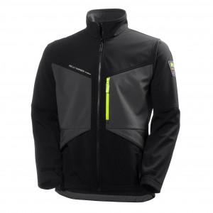 Куртка Helly Hansen Aker Softshell - 74051 (Dark Grey/Black)