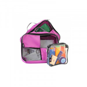 Набор чехлов для упаковки вещей Cabin Max Packing Cube Pink