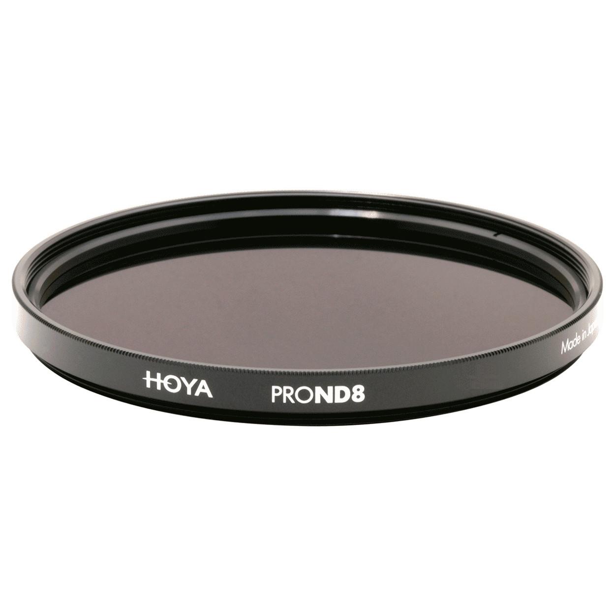 Фільтр нейтрально-сірий Hoya Pro ND 8 (3 стопа) 52 мм