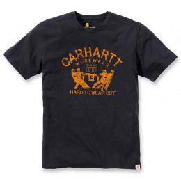 Футболка Carhartt Hard To Wear Out Graphic T-Shirt 102097 (Black)