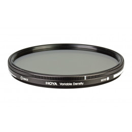 Фільтр нейтрально-сірий змінної щільності Hoya Variable Density (1,5-9 стопsв) 77 мм