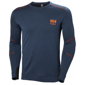 Футболка Helly Hansen HH Lifa Merino Crewneck 75106 (Deep Steel)