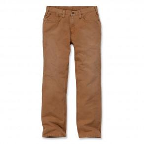 Штаны Carhartt Weathered Duck 5 Pocket Pant 100096 (Carhartt Brown)