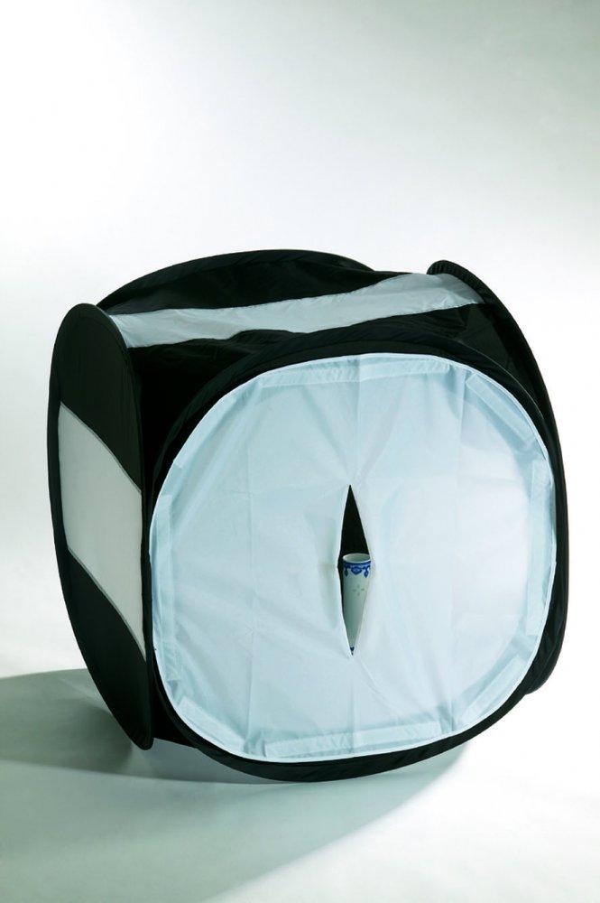 mircopro Лайт куб для предметной съемки Mircopro LT-016 80x80x80 см черный с белым фоном LT-016_808080