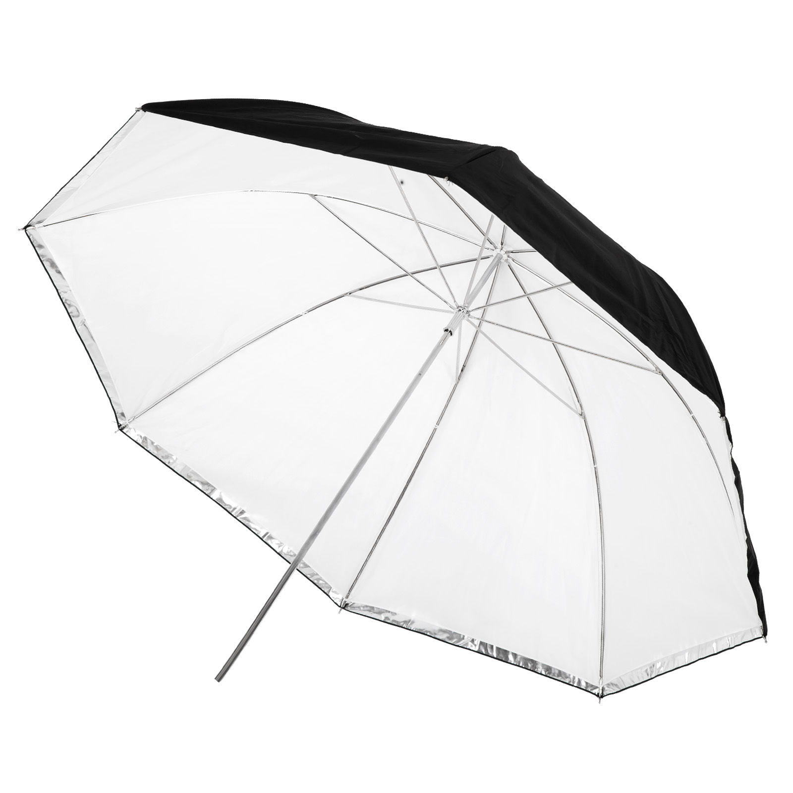 mircopro Зонт Mircopro UB-007 100см (черный/серебристый/полупрозрачный)